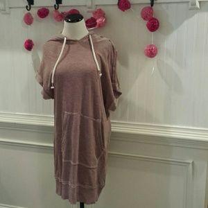 Splendid Women's Jersey Hooded Dress